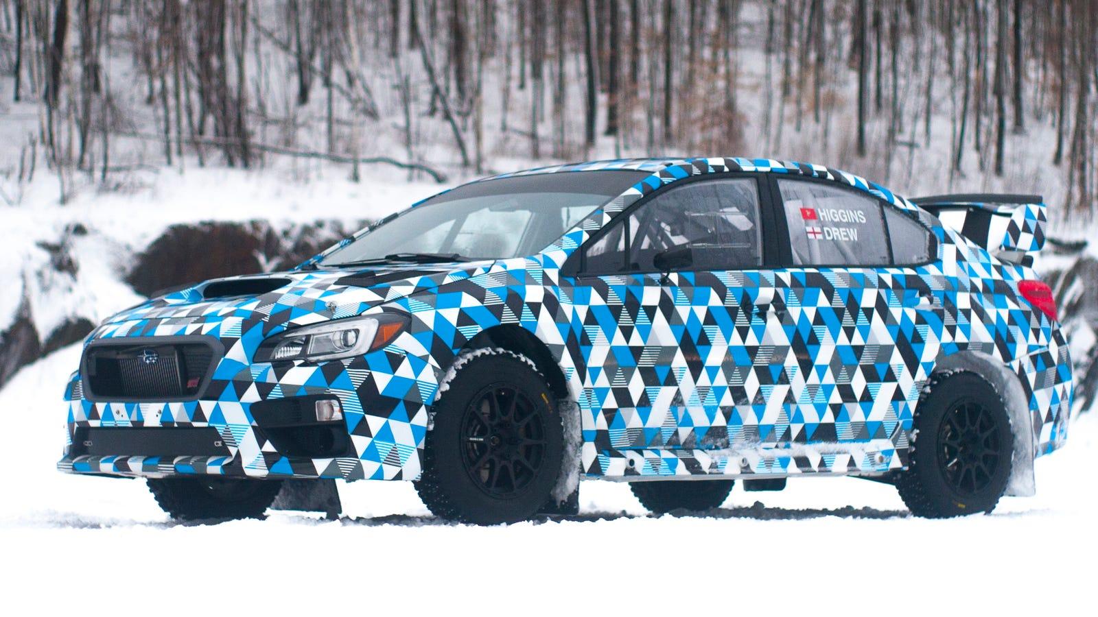 This Is The 2015 Subaru WRX STI Rally Car