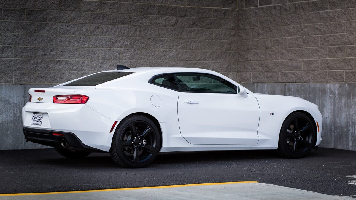 2017 Chevrolet Camaro 2.0T Automatic: The Base Model No Longer s on