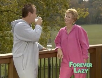"""Illustration for article titled Move Over Snuggie — """"Forever Lazy"""" Is The Latest In Wearable Blankets"""