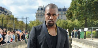 Kanye West (Pascal Le Segretain/Getty Images)