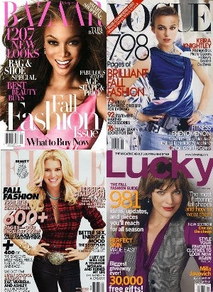 Illustration for article titled Not Much Has Changed: The Faces In September Ladymags Are Overwhelmingly White