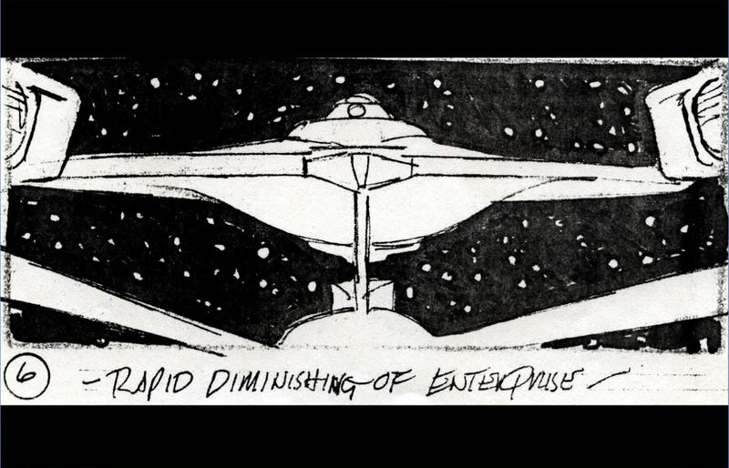 Illustration for article titled Original Star Trek II: Wrath Of Khan VFX Storyboards Are A Visual Feast