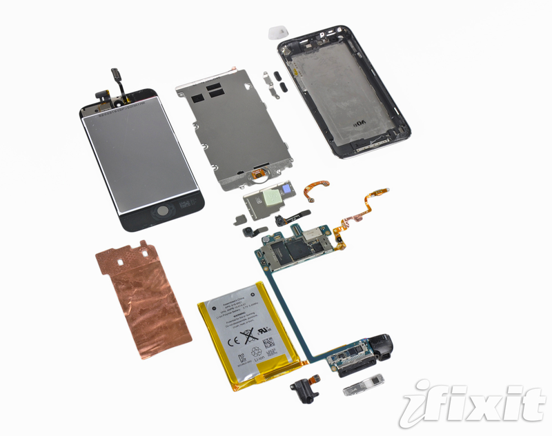 Illustration for article titled iPod Touch Teardown Reveals Only 256 MB of RAM and No Vibrator