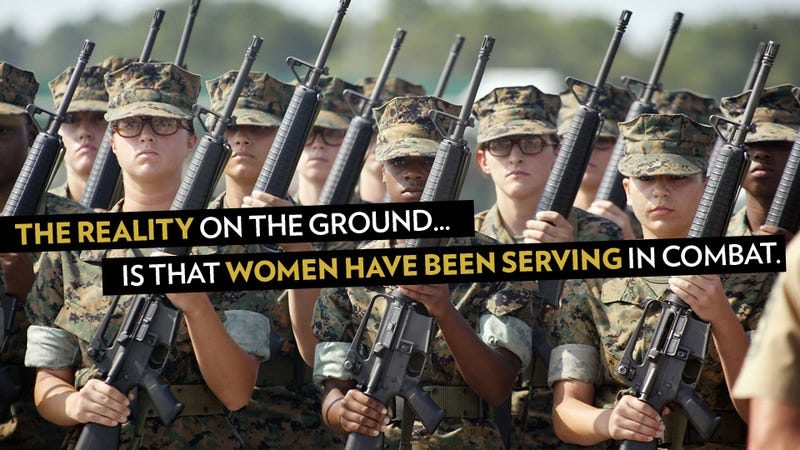 Illustration for article titled Women Have Been in Combat All Along