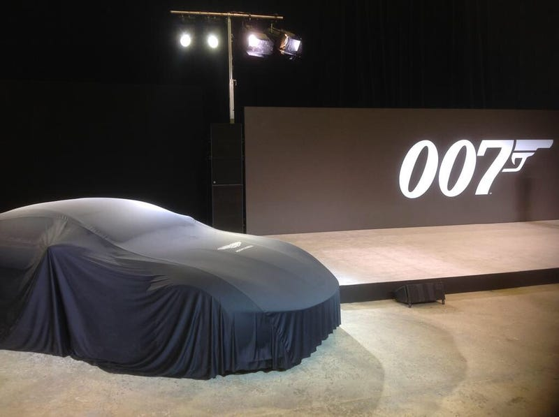 Illustration for article titled New Aston Martin Incoming, Bond 24