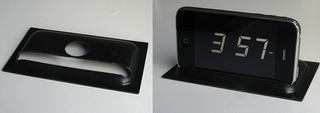 Illustration for article titled DIY iPhone-Turned-Alarm-Clock Stand