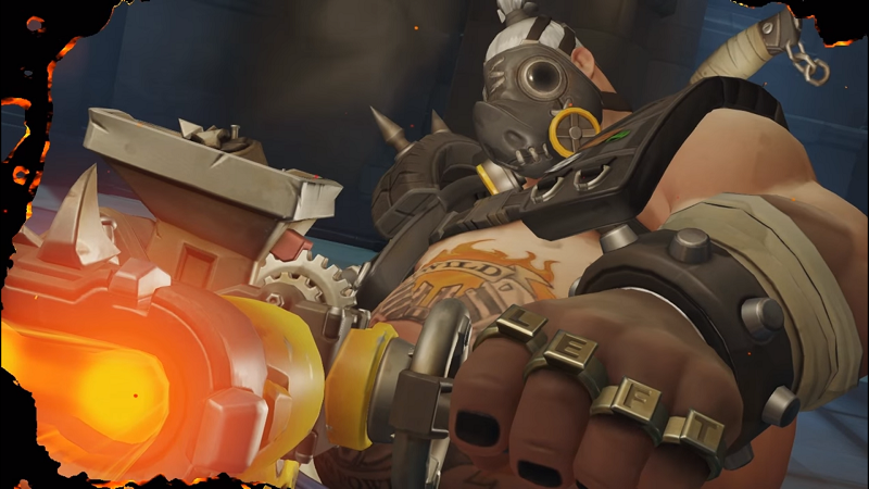 Illustration for article titled Overwatch's Roadhog Has A Broken Hook [UPDATE]