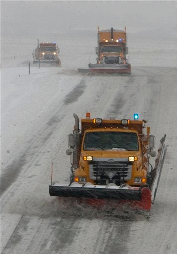 Illustration for article titled First Major Winter Storm Drops Crapload Of Snow On Midwest