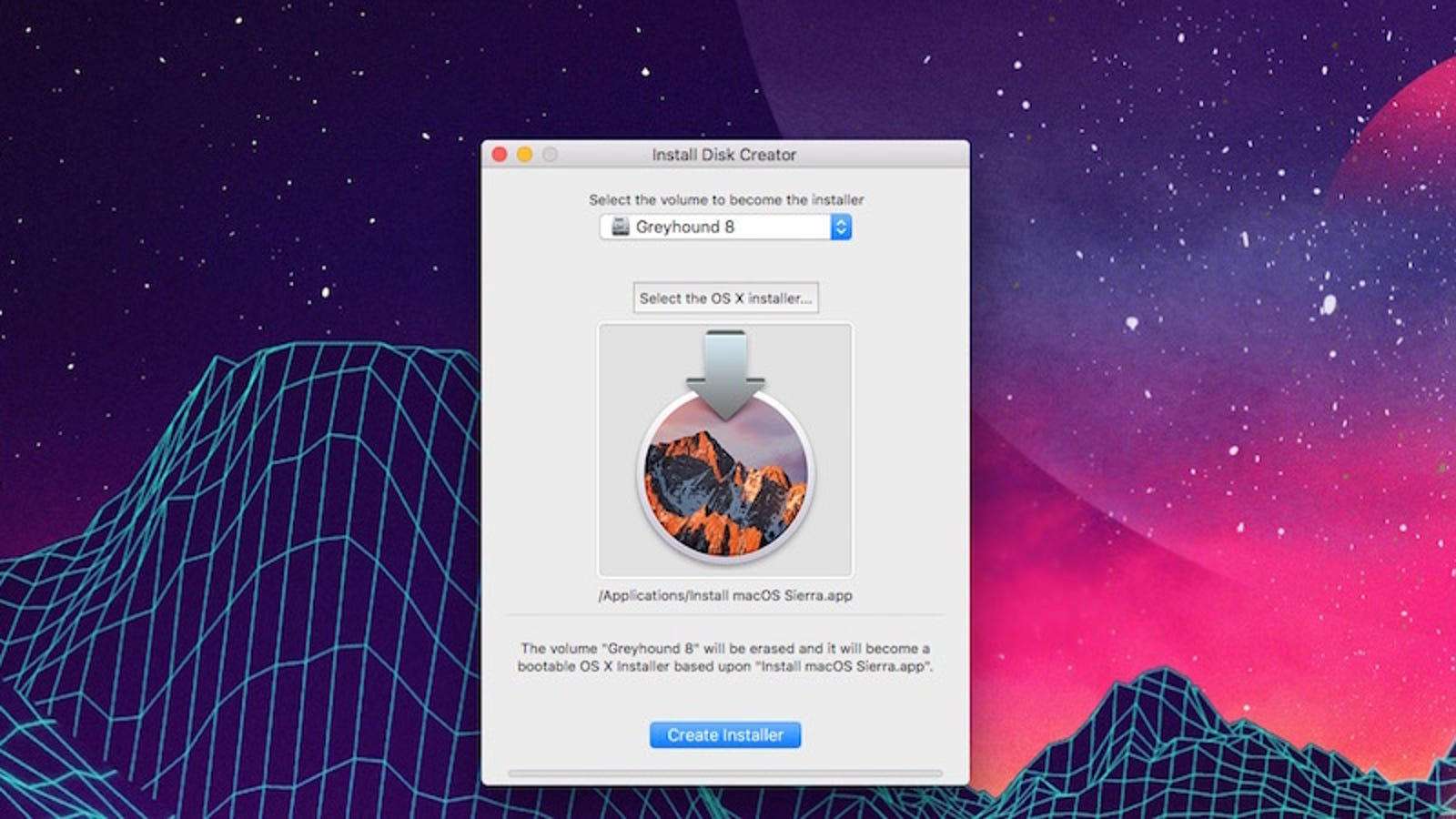 How to Make a Bootable macOS Sierra USB Install Drive