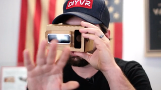 Realidad virtual de cartón y en código abierto por 20 euros