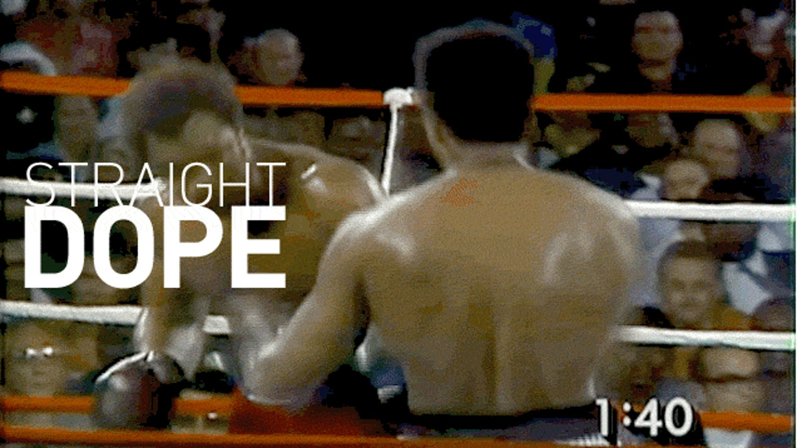 How Muhammad Ali's Rope-A-Dope Myth Suckered America