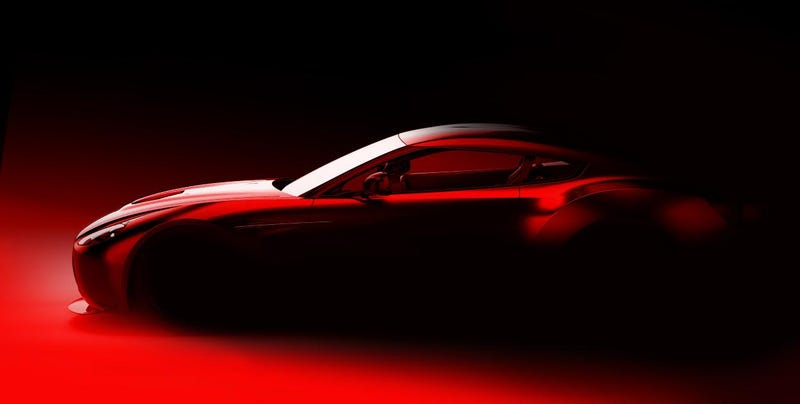 Illustration for article titled New Aston Martin Zagato is our next lust object