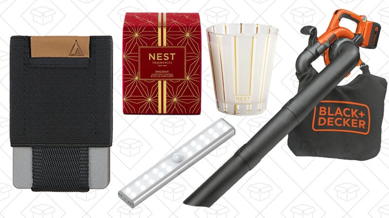 Illustration for article titled Saturday's Best Deals: Black + Decker, Nest Candles, Minimalist Wallets, and More