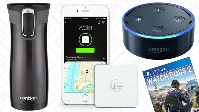 Illustration for article titled Sunday's Best Deals: Amazon Gadget Sale Redux, Your Favorite Travel Mug, and More