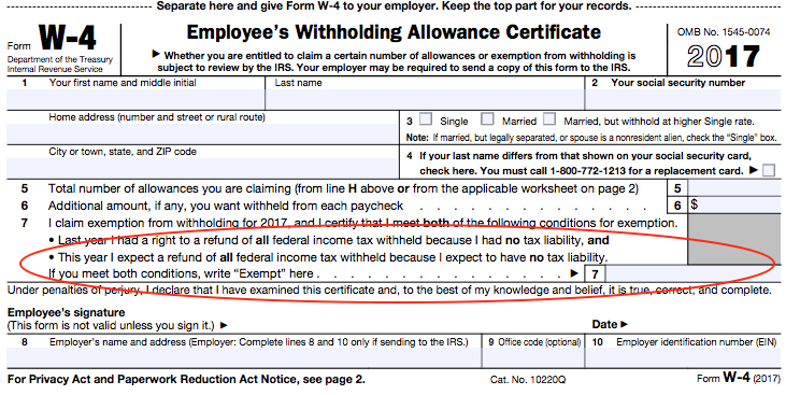 A Beginners Guide to Filling out Your W4 – Personal Allowances Worksheet Help