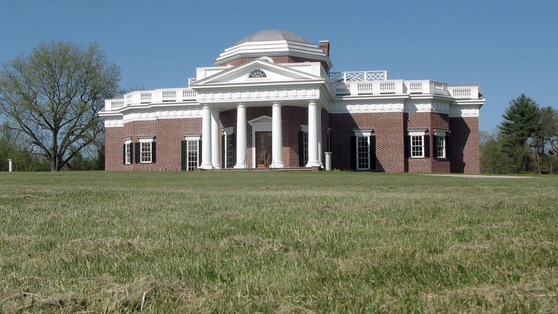 Illustration for article titled For Sale: A Faithful Replica of Monticello Built by the Cofounder of Friendly's