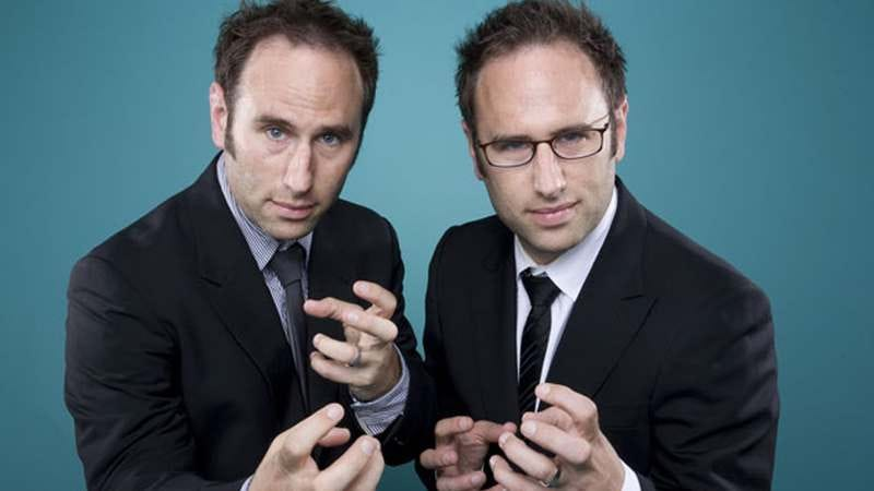 Illustration for article titled The Sklar Brothers on the creepiness of twins and being one comedic voice