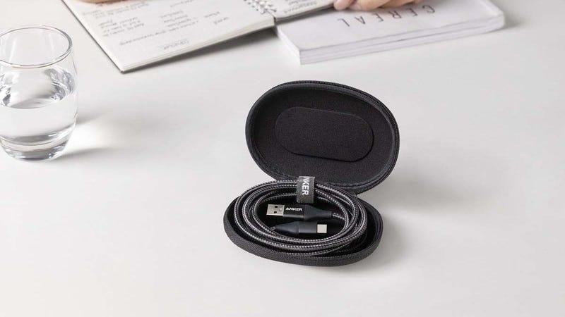 Cable Anker PowerLine+ II 3' USB-A a USB-C | $10 | Amazon | Usa el código CABLE8462. Disponible en rojo y negroCable Anker PowerLine+ II 6' USB-A a USB-C | $11 | Amazon | Usa el código CABLE8463. Funciona en negro y rojo.Foto: Amazon