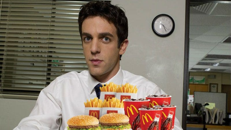 Illustration for article titled B.J. Novak will also help invent McDonald's in John Lee Hancock's The Founder