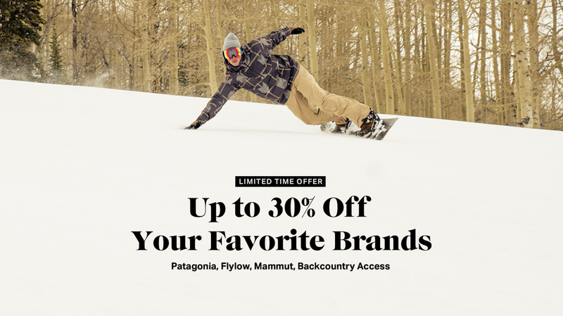 Up to 30% Off Big Brands | Backcountry