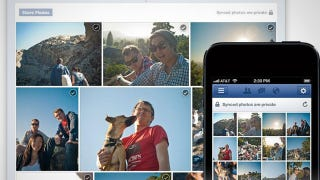 Illustration for article titled Facebook Photo Sync Uploads New Pictures to Facebook From iOS, Android