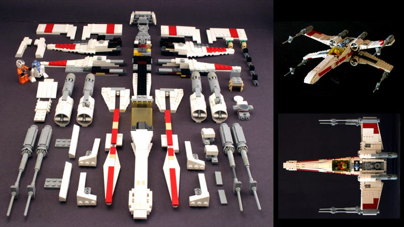 Illustration for article titled How To Build the Best Lego X-Wing Ever