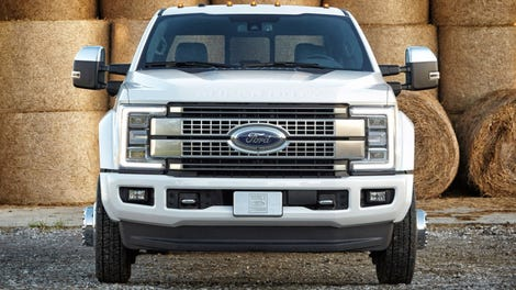 2017 Ford Super Duty New Body Old Engines High Tech Idiot Proofing