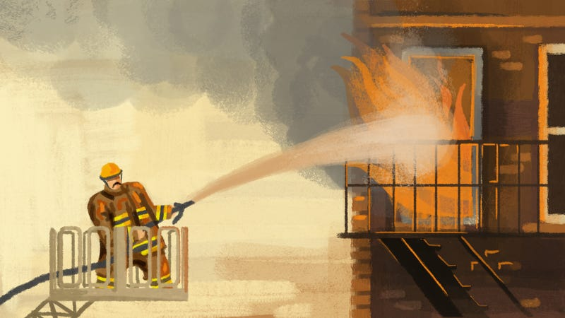 Illustration for article titled Why We're Still So Captivated By Firefighters