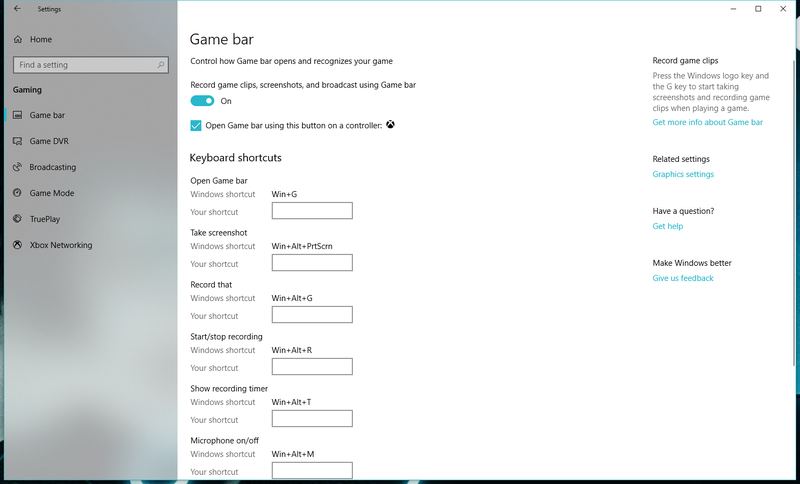 How to Use Windows 10's 'Game Bar' to Broadcast Your Terrible