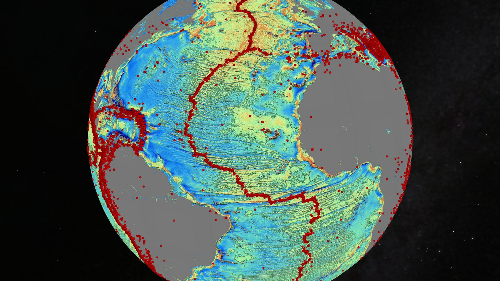 Explore The Worlds Most Detailed Map Of The Seafloor Released Today