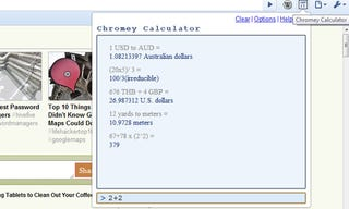 Illustration for article titled Chromey Calculator Adds Recent Calculator History To Google Chrome