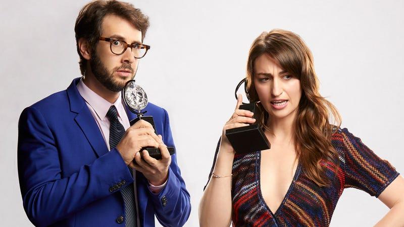 Tony Award nominees Josh Groban and Sara Bareilles will host the 72nd Annual Tony Awards