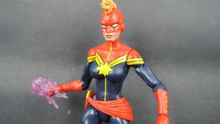Illustration for article titled A Closer Look At Carol Danvers' First Captain Marvel Figure