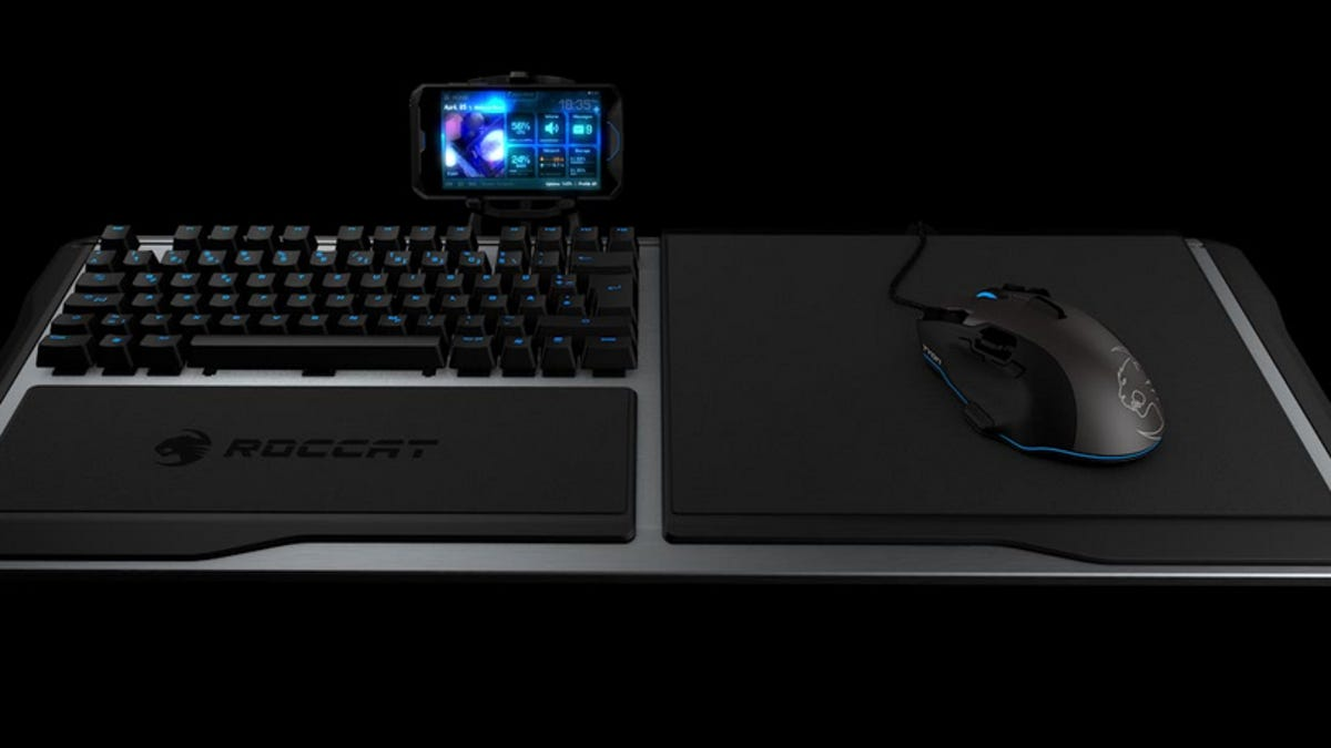 An Elegant Keyboard Solution For Couch Based PC Gaming