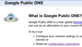 Google Public DNS Aims to Speed Up Your Browsing