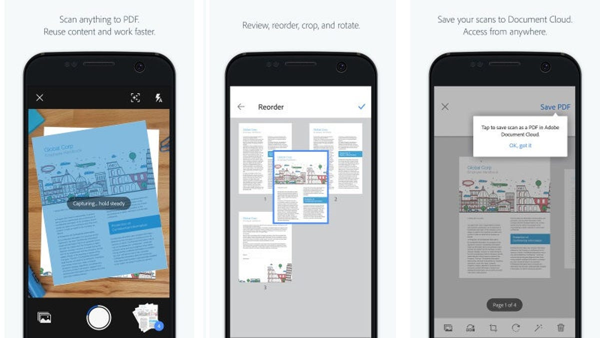 Transform any document into a searchable pdf with adobes scan app reheart Gallery