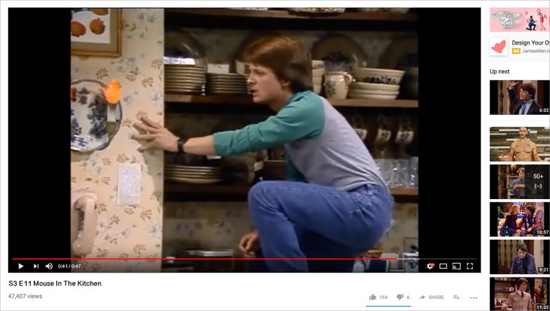 Illustration for article titled 47-Second Clip From 'Family Ties' Season 3 Now Available On YouTube