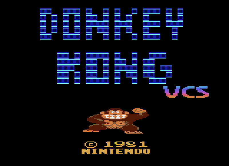 Illustration for article titled After 30 Years, Donkey Kong Gets a Proper Port to the Atari 2600