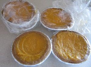My sweet potato pie tarts.