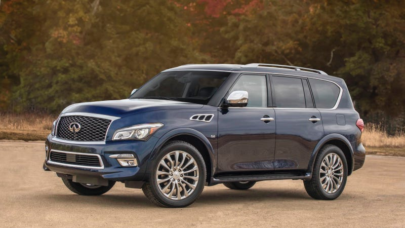 Illustration for article titled Infiniti QX80: Jalopnik Ultimate Buyer's Guide
