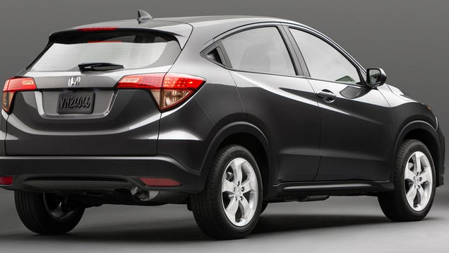 2015 Honda Hr V Is A Sleek Compact Car With A Lift Kit