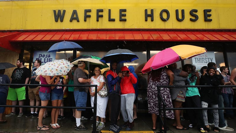 Illustration for article titled Why Waffle House Is the Best Indicator of a Storm's Severity