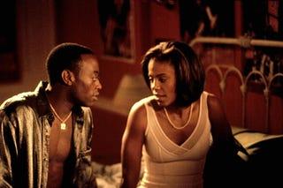 Scene from Love & Basketball (New Line Cinema)