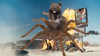 Illustration for article titled Syfy's next hybrid monster should be Bearantula!