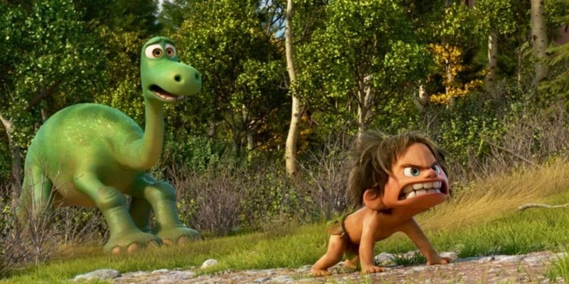 Illustration for article titled How Pixar Rescued The Good Dinosaur From Creative Extinction