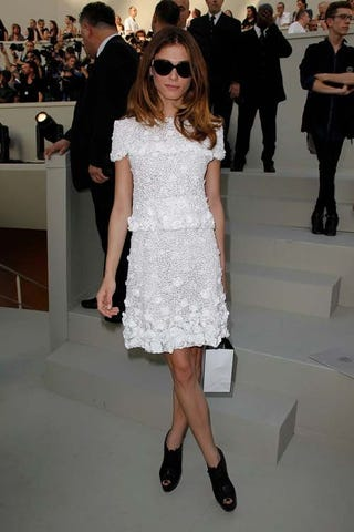 Splurge of Celebrities and Glamour in the Front-Row of Chanel
