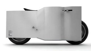 Illustration for article titled Nucleus Motorcycle Concept Would Be Interesting in a Wind Tunnel