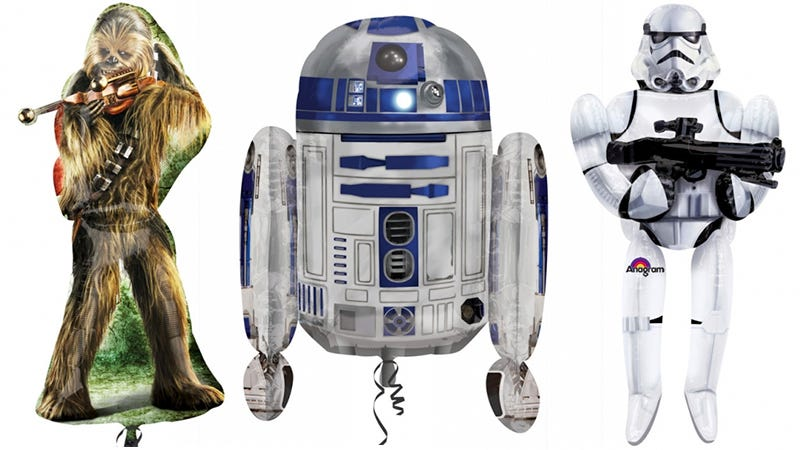 Illustration for article titled Fake a Birthday Every Day Just To GetThese New Star WarsBalloons