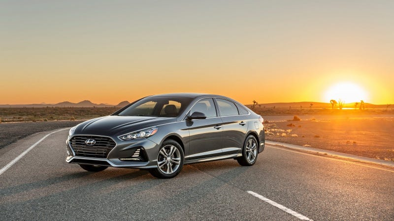 Illustration for article titled There's Nothing Wrong With The New Hyundai Sonata