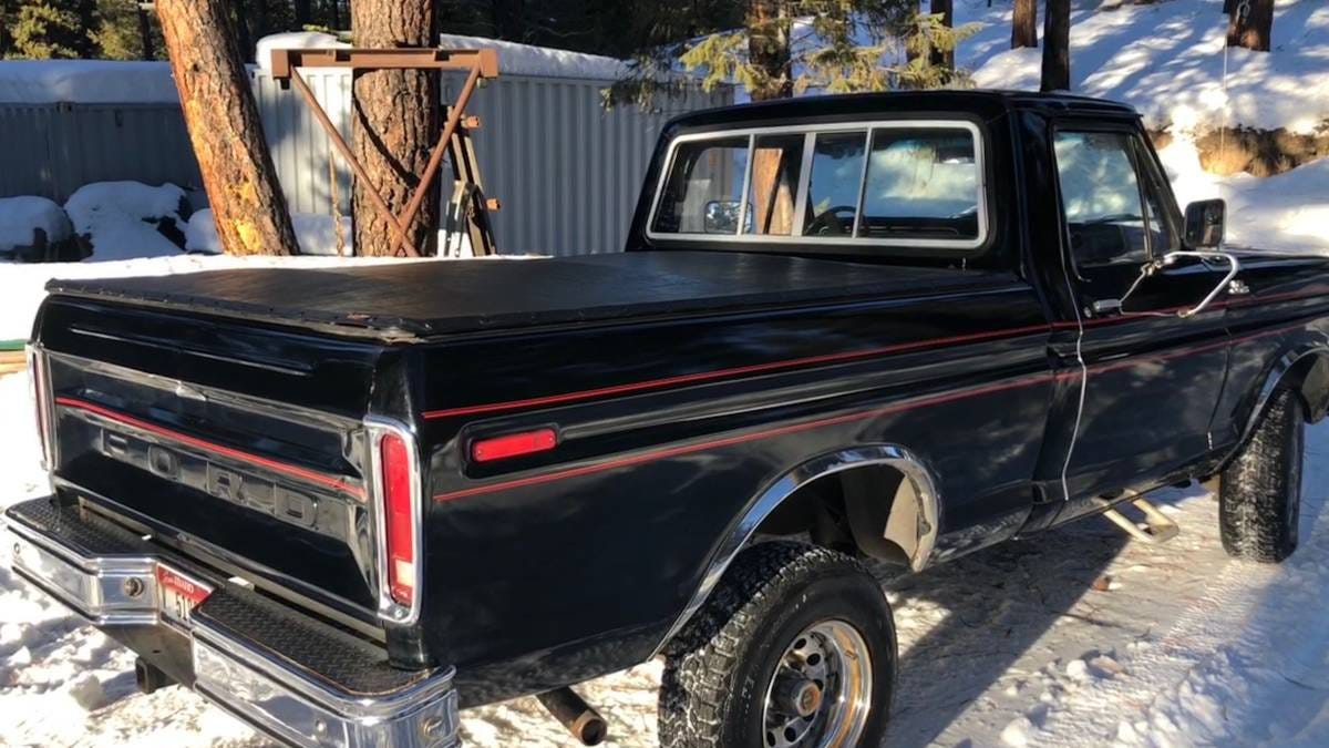 At $15,000, Could This 1979 Ford F150 4X4 Short-Bed Make